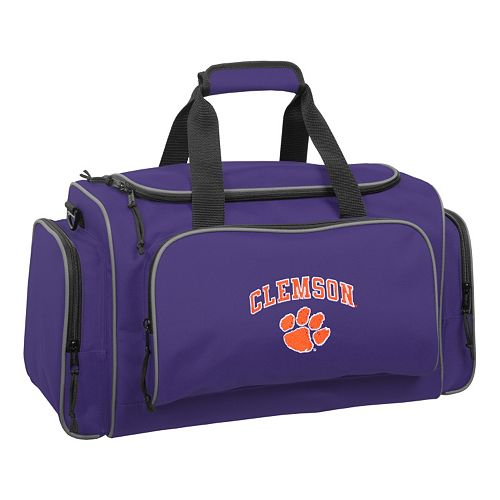 WallyBags 21-Inch Clemson Tigers Duffel Bag