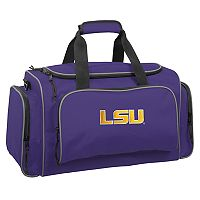 WallyBags 21-Inch LSU Tigers Duffel Bag