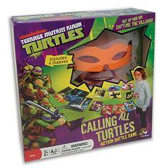 Teenage Mutant Ninja Turtles Calling All Turtles Action Battle Game by Cardinal