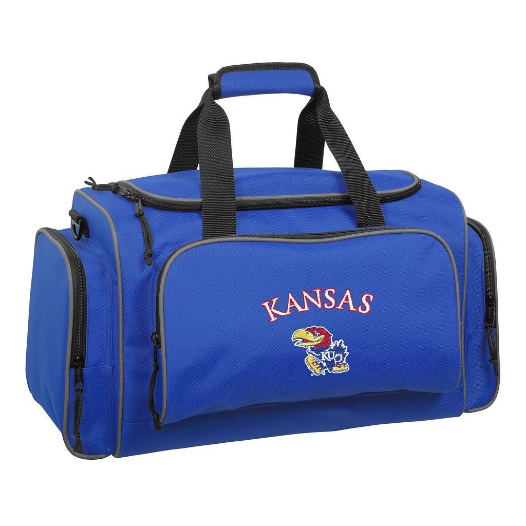 WallyBags 21-Inch University of Kansas Jayhawks Duffel Bag