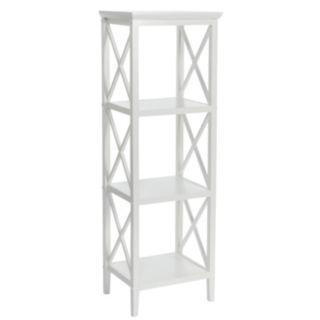 RiverRidge Home X-Frame Bathroom Towel Tower
