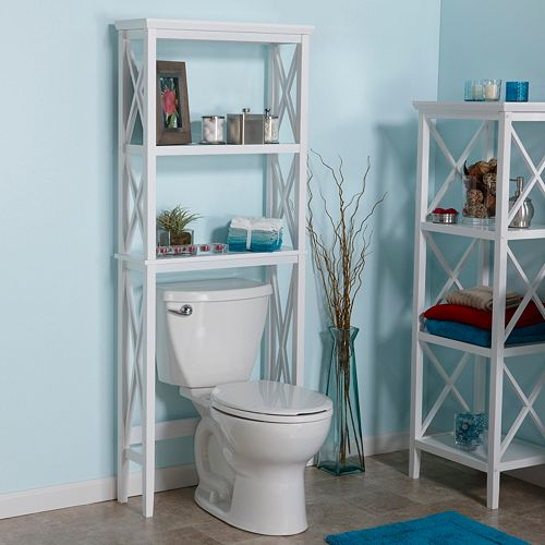 RiverRidge Home X-Frame Bathroom Spacesaver