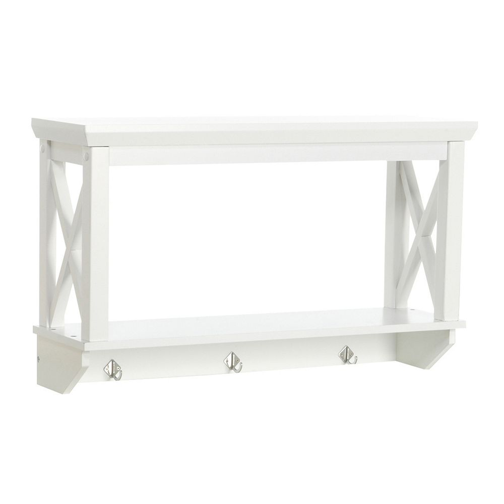 Bathroom wall shelf - Riverridge Home X Frame Bathroom Wall Shelf
