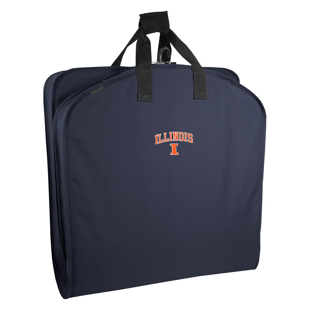 WallyBags Illinois Fighting Illini 40-Inch Garment Bag