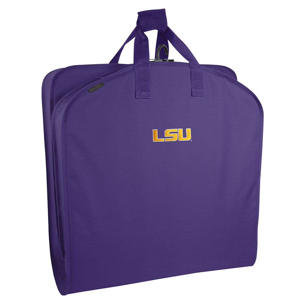 WallyBags Louisiana State Tigers 40-Inch Garment Bag