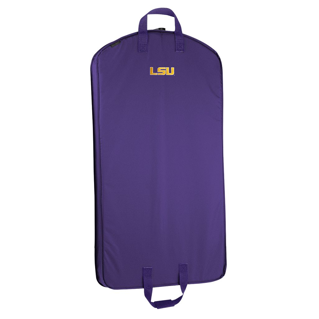 WallyBags Louisiana State Tigers 40-Inch Garment Bag