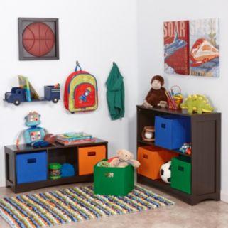 RiverRidge Kids 3 Cubby Bench