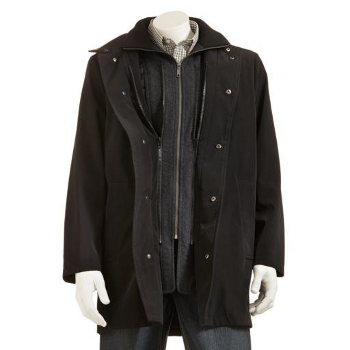 Men's Chaps Quarry Microfiber Jacket - Men