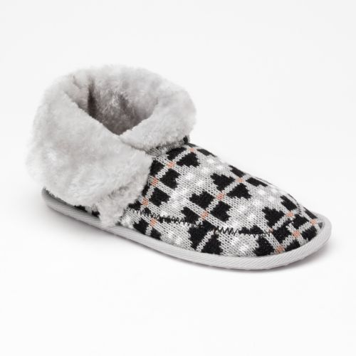 Unleashed by Rocket Dog Skijump Winter Games Knit Bootie Slippers - Women