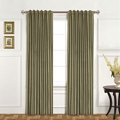 United Curtain Co. 1-Panel Dupioni Silk Austrian Tassle Window Panel