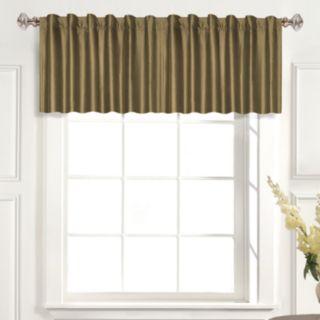 "United Curtain Co. Dupioni Silk Straight Window Valance - 42"" x 19"""