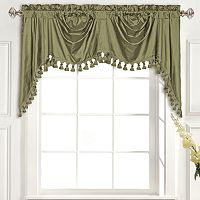 United Curtain Co. Dupioni Silk Austrian Valance - 108