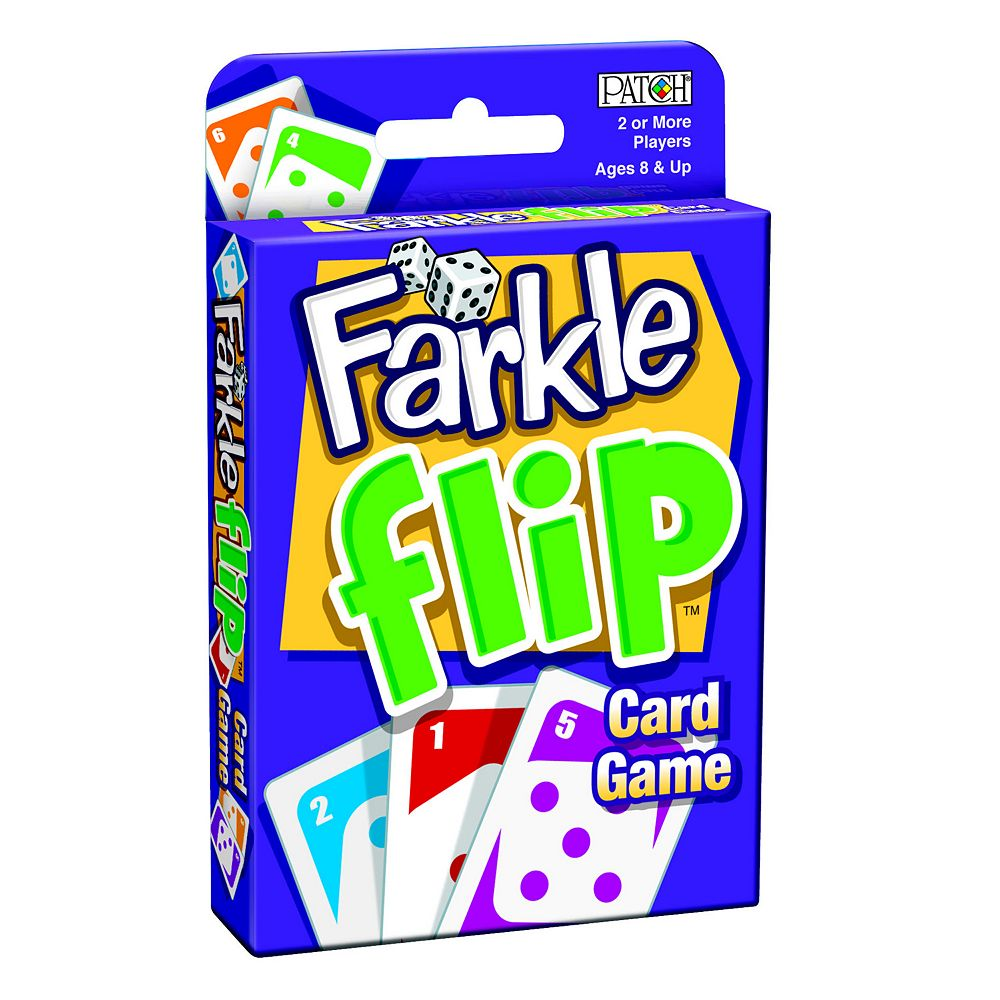 Farkle Flip Card Game by Patch
