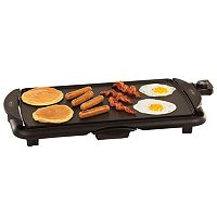 Bella 10.5'' x 20'' Family Size Electric Griddle