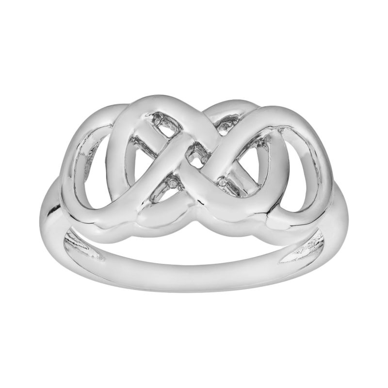 silver infinity jewelry kohls