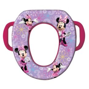 Disney Mickey Mouse and Friends Minnie Mouse Soft Potty Seat