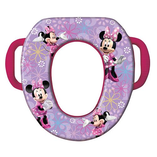 Disney Mickey Mouse & Friends Minnie Mouse Soft Potty Seat