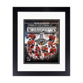 """Chicago Blackhawks 2013 Stanley Cup Champions 8"""" x 10"""" Framed Photo"""