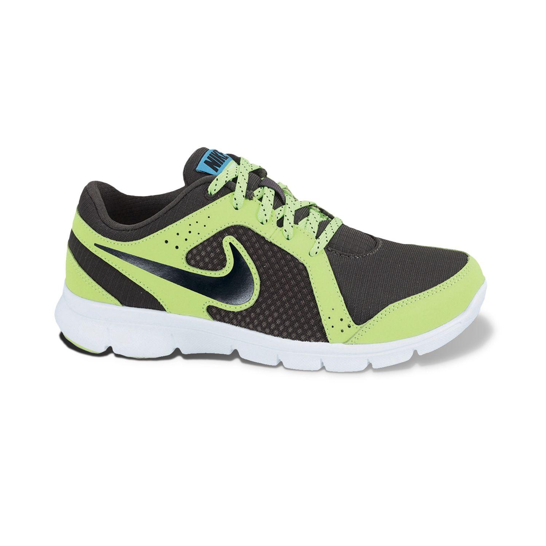 Nike Black Flex Experience Athletic Shoes - Grade School Boys