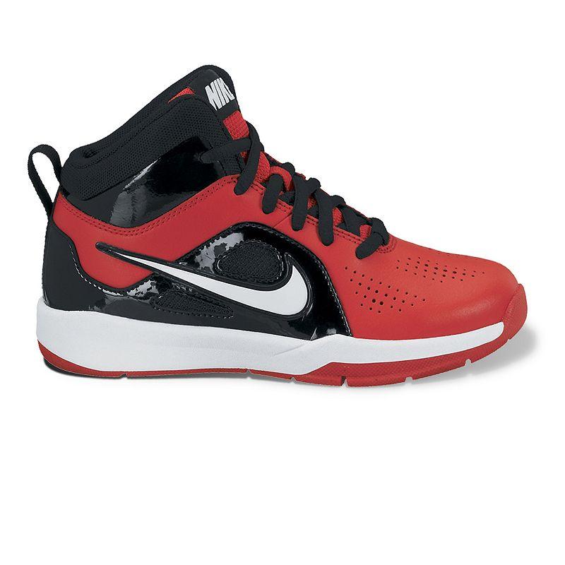 Nike Red Team Hustle D 6 Basketball Shoes - Pre-School Boys