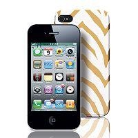 Fashionation Zebra iPhone 4 & 4S Hardshell Cell Phone Case