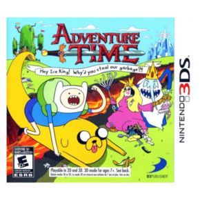 Adventure Time: Hey Ice King Why'd You Steal Our Garbage for Nintendo 3DS