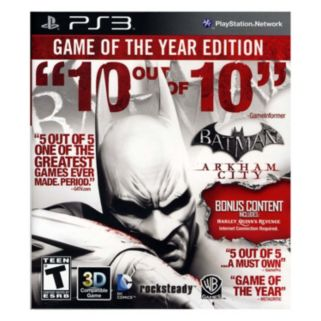 Batman: Arkham City - Game of the Year Edition for PlayStation 3