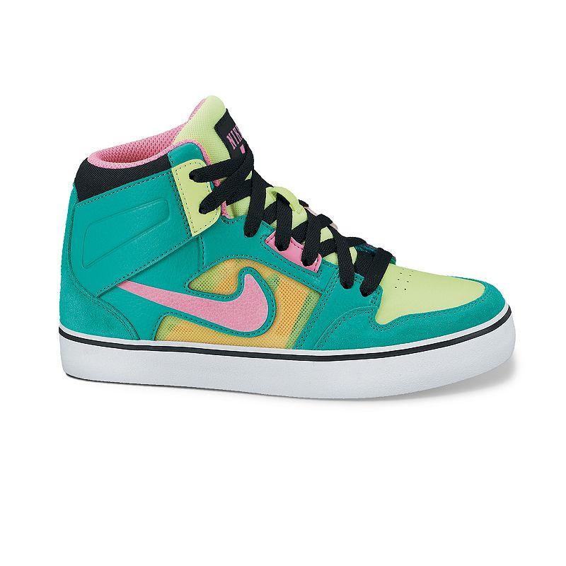 Nike Ruckus 2 High-Top Skate Shoes - Girls