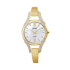 Seiko Women's Solar Half-Bangle Watch