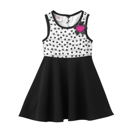 Marmellata Classics Polka Dot Dress - Toddler