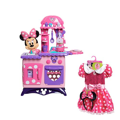Minnie Mouse Play Kitchen: Disney Mickey Mouse & Friends Minnie Mouse Bow-tique