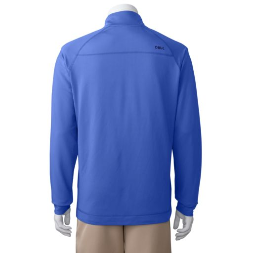 Men's C-BUK by Cutter and Buck Half-Zip Raglan Performance Pullover