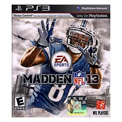 Madden NFL 13 for PlayStation 3