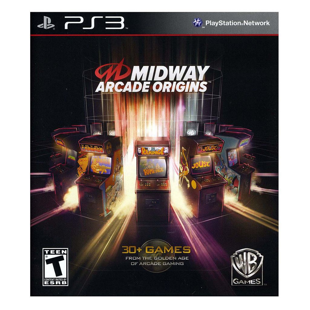 Midway Arcade Origins for PlayStation 3