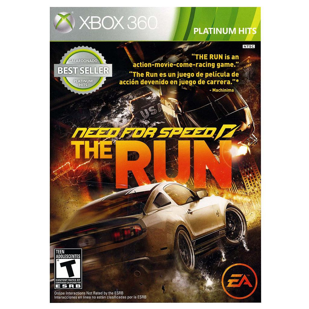 Need for Speed: The Run - Platinum Hits Edition for Xbox 360