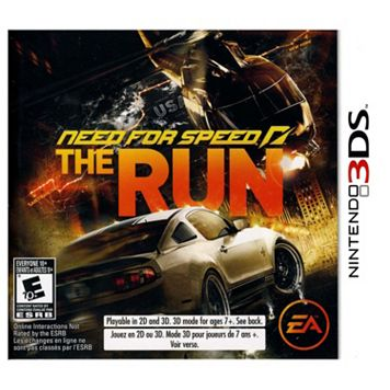 Need for Speed: The Run for Nintendo 3DS