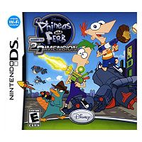 Disney Phineas and Ferb: Across the 2nd Dimension for Nintendo DS