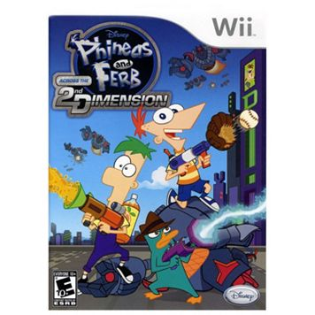 Disney Phineas and Ferb: Across the 2nd Dimension for Nintendo Wii
