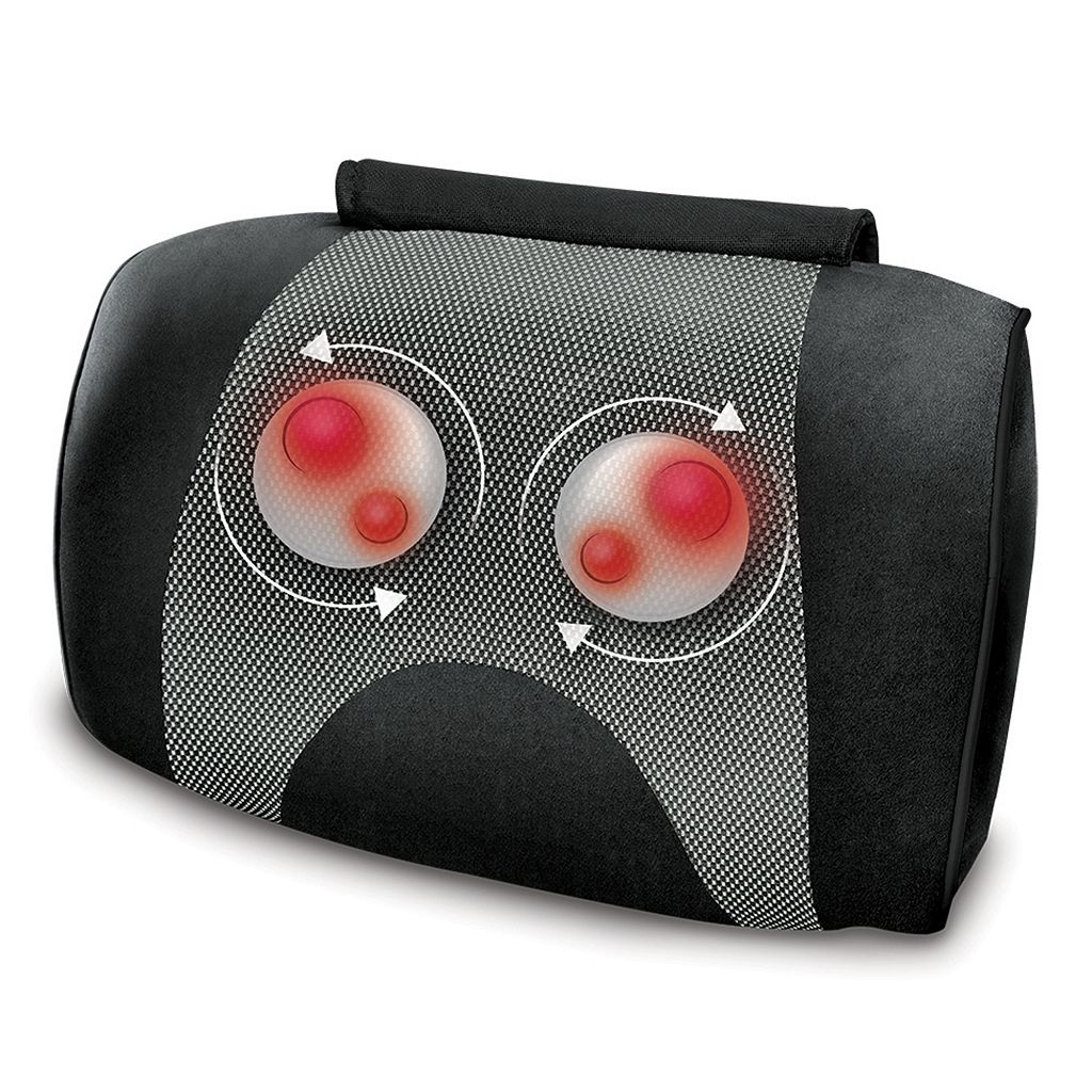 HoMedics Shiatsu & Vibration Massage Pillow with Heat