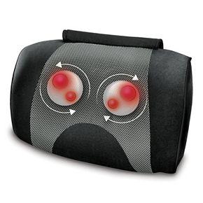 HoMedics Shiatsu and Vibration Massage Pillow with Heat