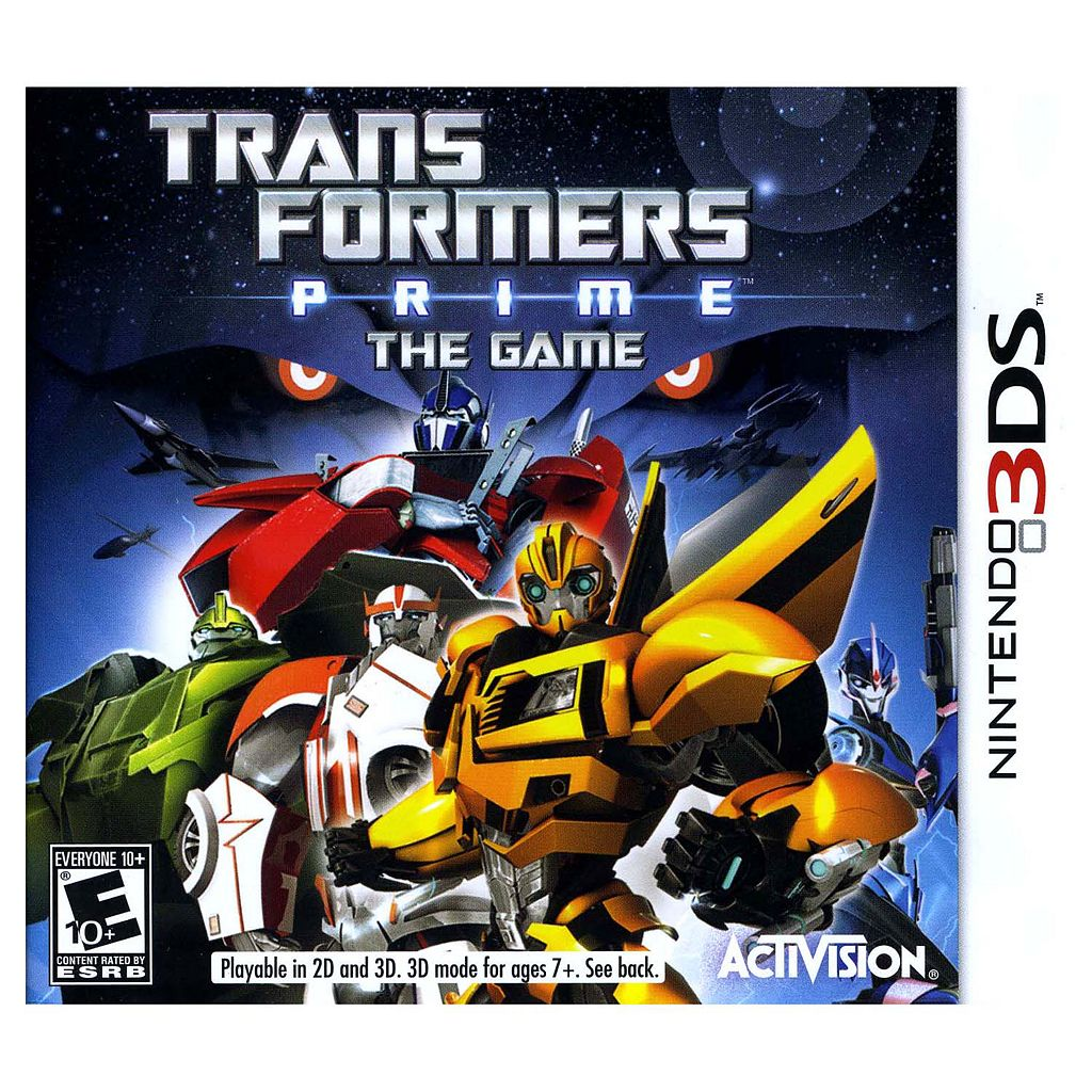 Transformers Prime: The Game for Nintendo 3DS