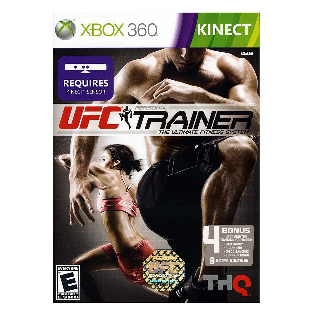 UFC Personal Trainer: The Ultimate Fitness System for Xbox 360 Kinect