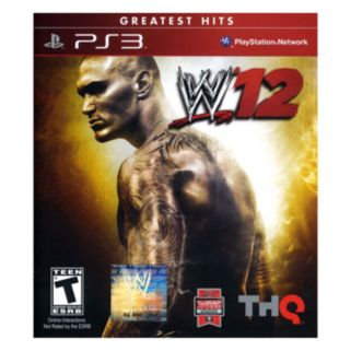 WWE '12 for PlayStation 3
