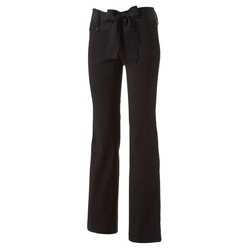 Stooshy Bootcut Dress Pants Juniors