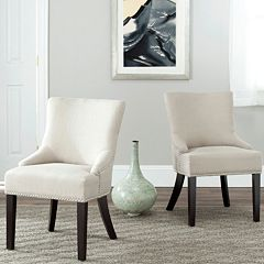 Safavieh 2-pc. Lotus Beige Side Chair Set