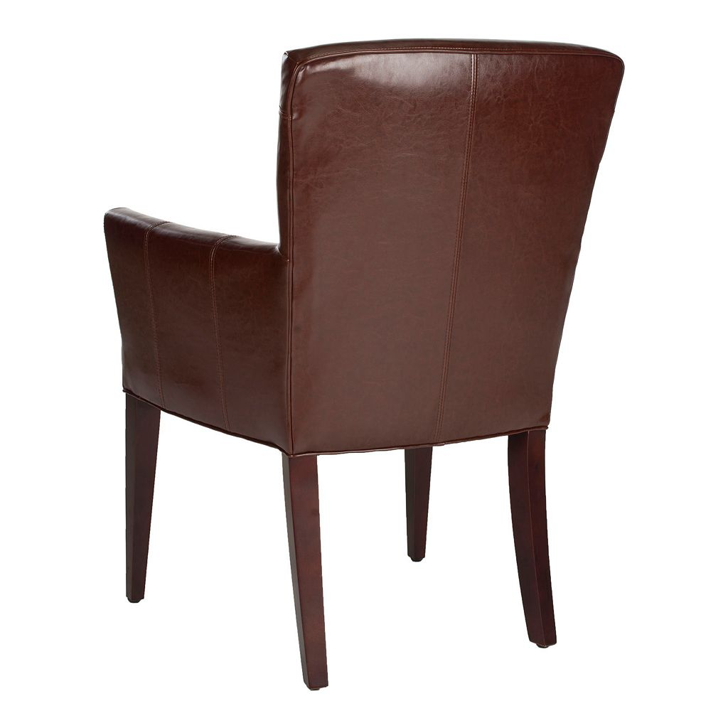 Safavieh Dale Leather Armchair