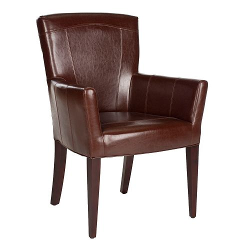 Safavieh Dale Leather Armchair
