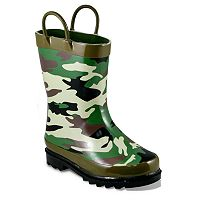 Western Chief Camouflage Rain Boots - Toddler Boys