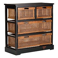 Safavieh Jackson Four-Basket Storage Unit