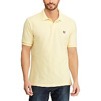 Big & Tall Chaps Solid Pique Polo